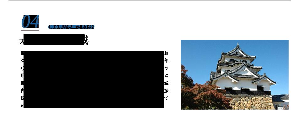 04天下の名城彦根城